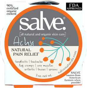 Achy Salve (Natural Pain Relief Balm) FDA Approved