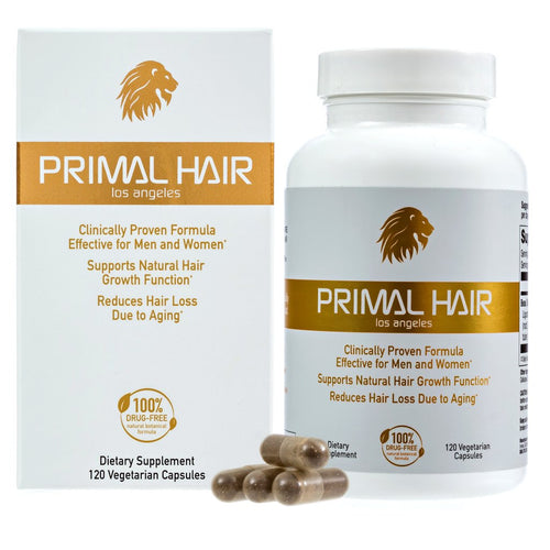 Primal Hair Supplement For Thinning Hair (Men & Women) (Temporarily Out of Stock - Accepting Pre-orders)