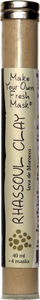 Rhassoul Clay (Moroccan Lava)  (40 ml tube)
