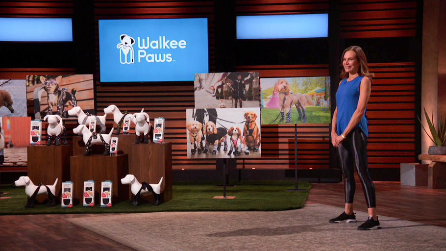 Walkee Paws as Seen on Shark Tank