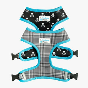 Classic/Skulls 2-in-1 Reversible Harness - Final Sale (Only $9.99 with leggings purchase)