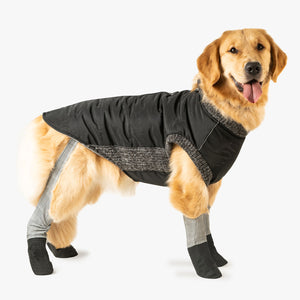 Fleece-lined Puffer Coat