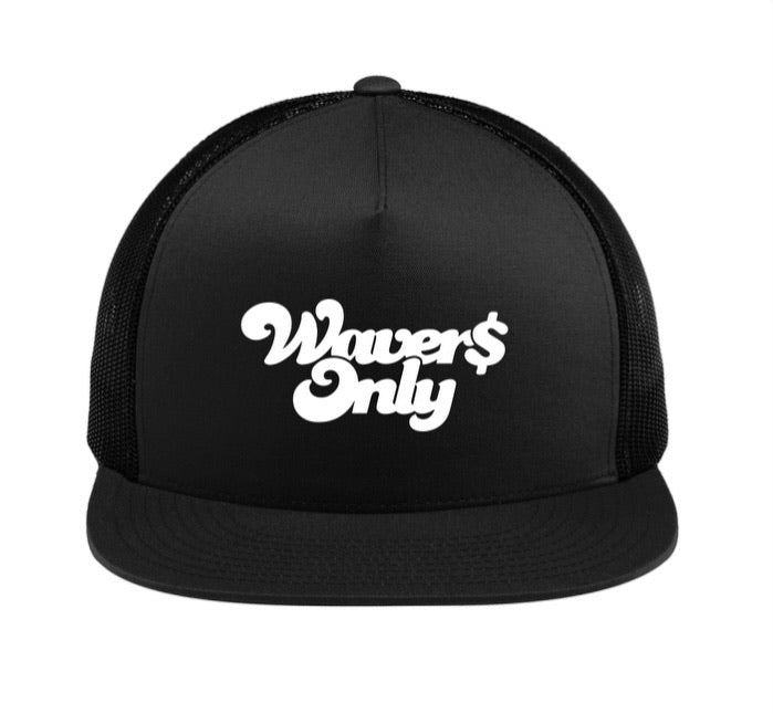 Waver$ Only Trucker Hat (White)