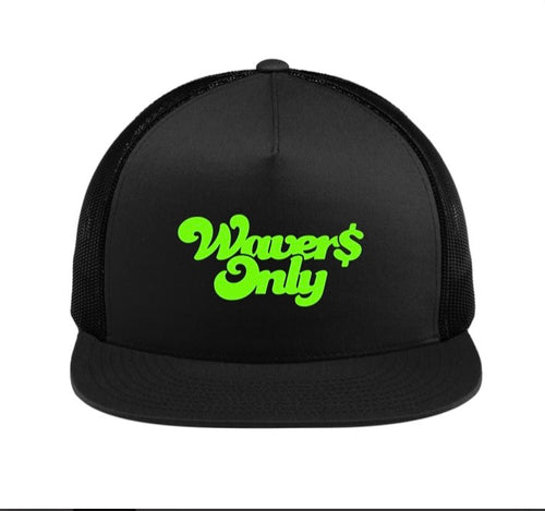 Waver$ Only Trucker Hat (Slime)
