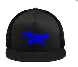 Waver$ Only Trucker Hat (Royal)