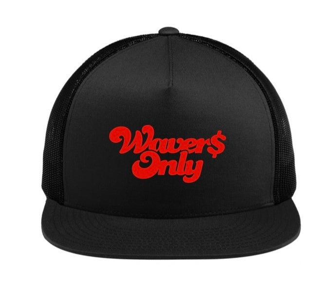 Waver$ Only Trucker Hat (Red)