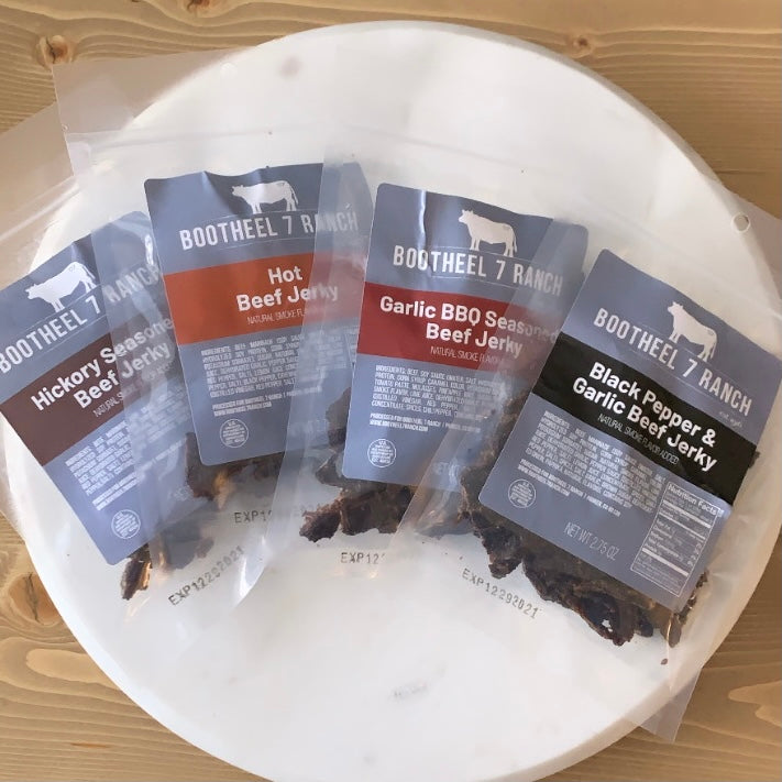 Beef Jerky, Variety 4-Pack