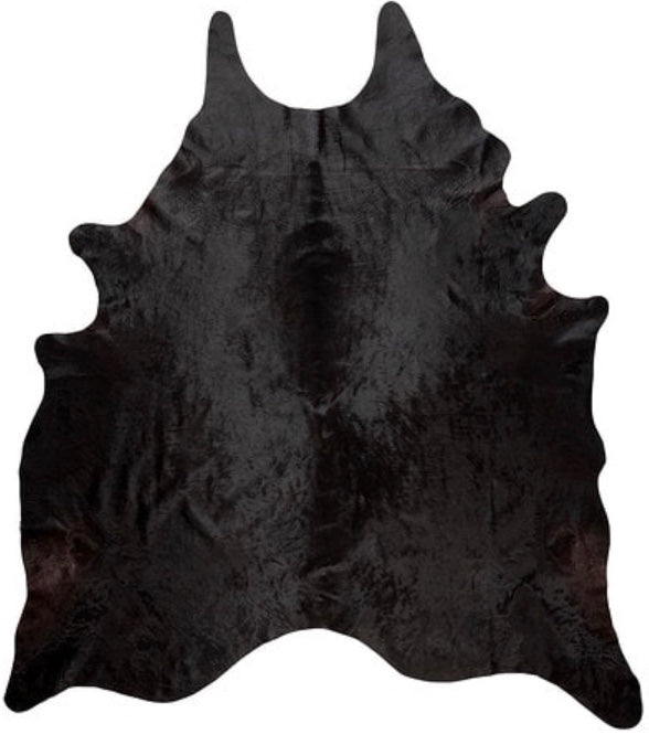 Black Angus Hide Rug