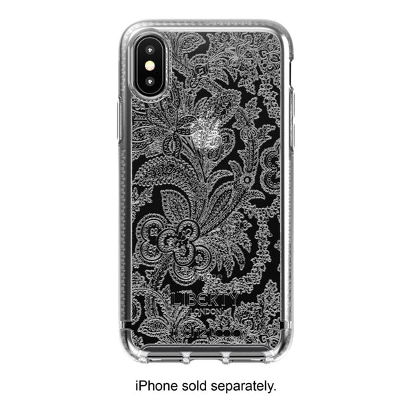 Tech21 - Liberty London Pure Clear Case for Apple® iPhone® X and XS - Clear