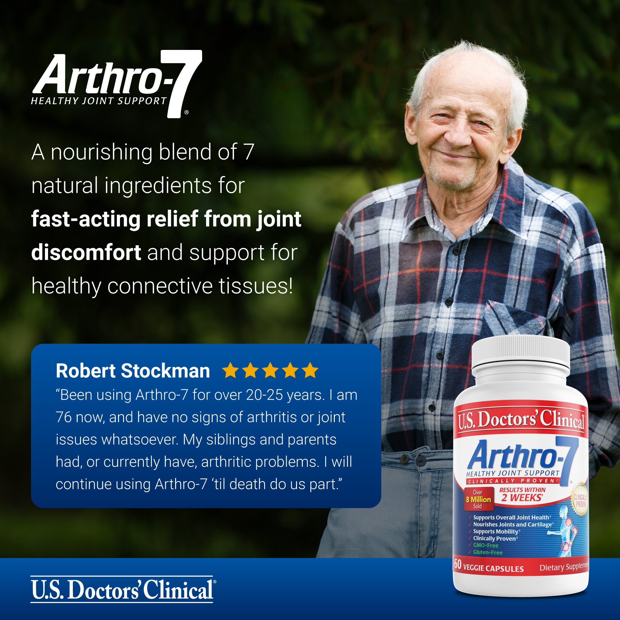 1 Month of Arthro-7 - Clinical Joint Recovery