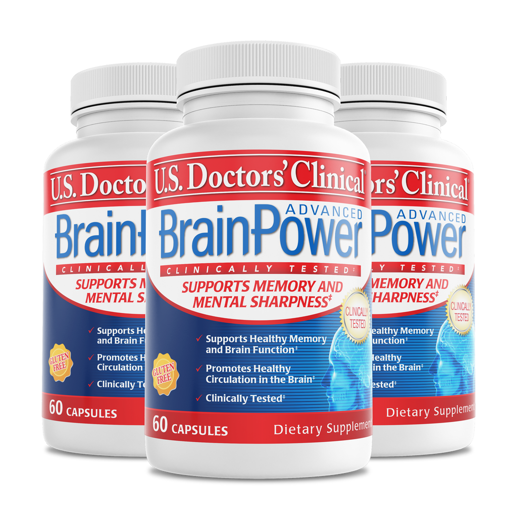 BrainPower Advanced bottle 3 pack
