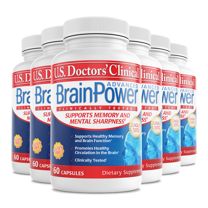 BrainPower Advanced bottle 6 pack