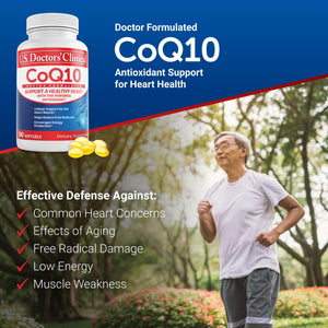 CoQ10 - Heart Health Antioxidant