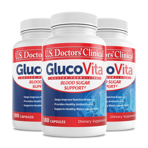 GlucoVita - Blood Sugar Management - 3 Pack