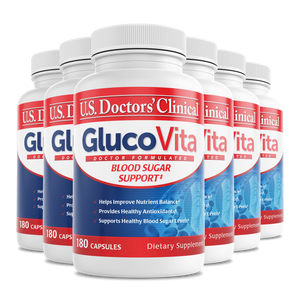 GlucoVita - Blood Sugar Management - 6 Pack