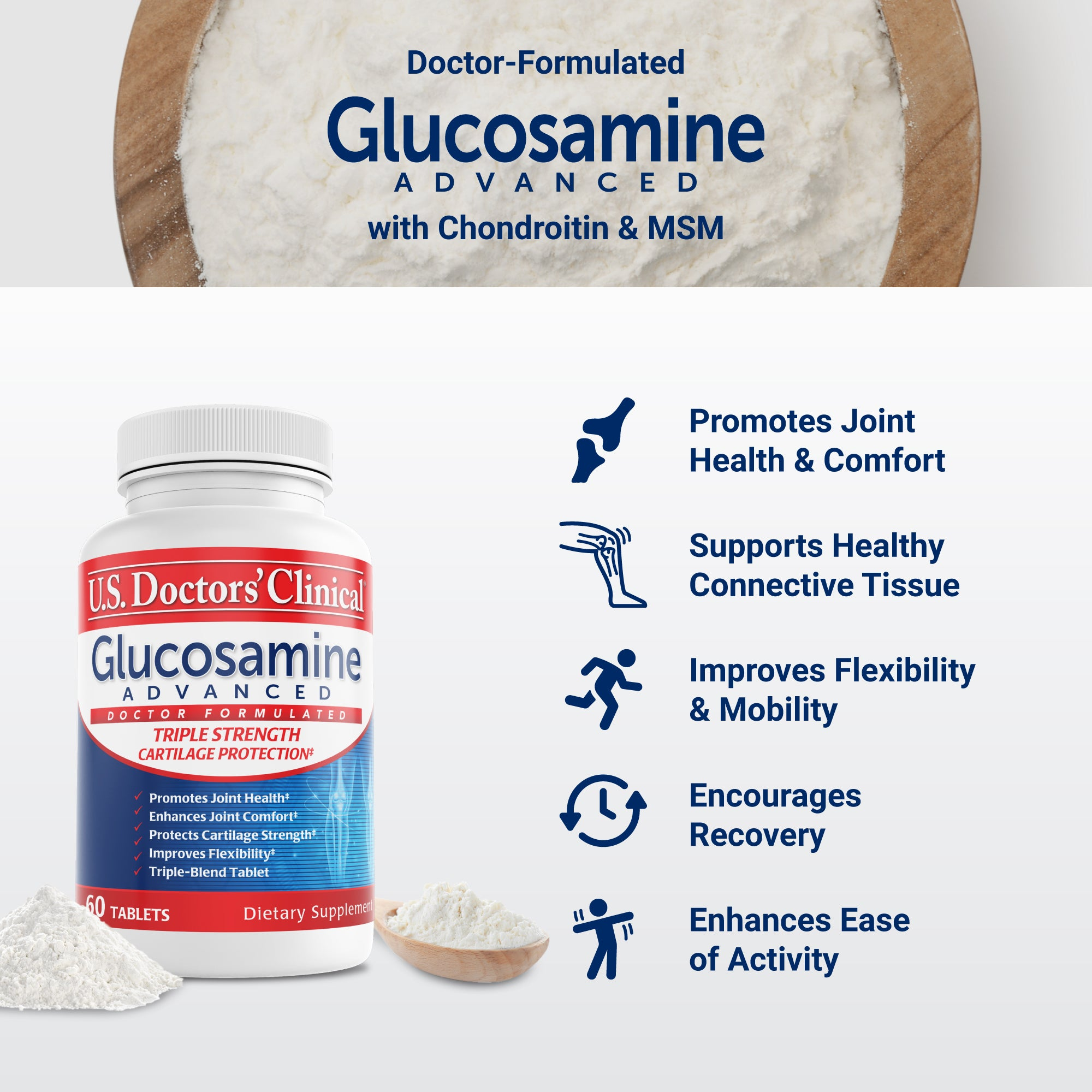 Glucosamine Advanced - Cartilage Support