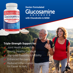 Glucosamine Advanced - Cartilage Support - 3 Pack