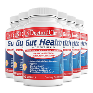 Gut Health - Clinically Tested Probiotics - 6 Pack