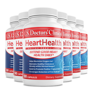 HeartHealth - Vitamineral Herbal Complex - 6 Pack