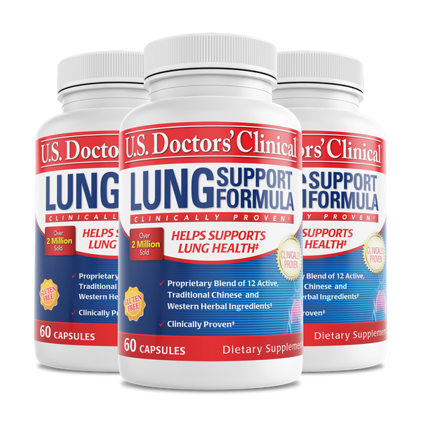Lung Support bottle 3 pack