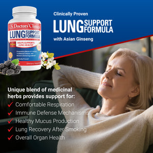 3-Pack - Lung Support, 60 Capsules