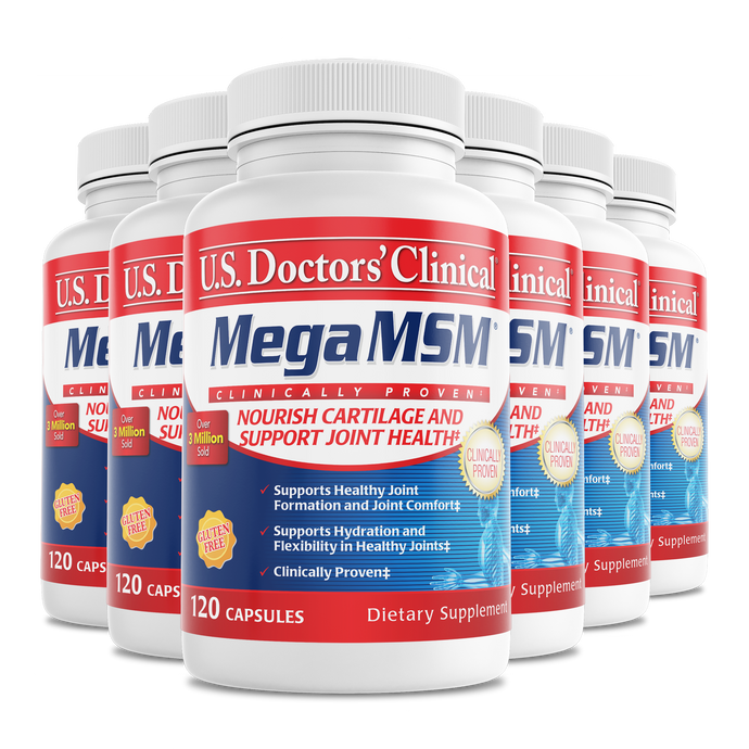 Mega MSM bottle 6 pack
