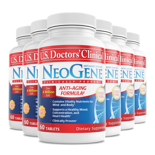 NeoGene bottle 6 pack