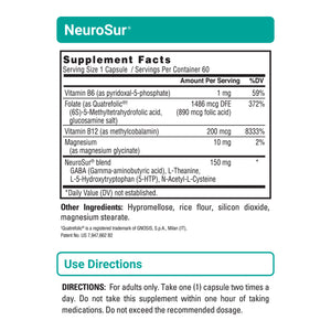 NeuroSur - Memory & Stress Support - 6 Pack