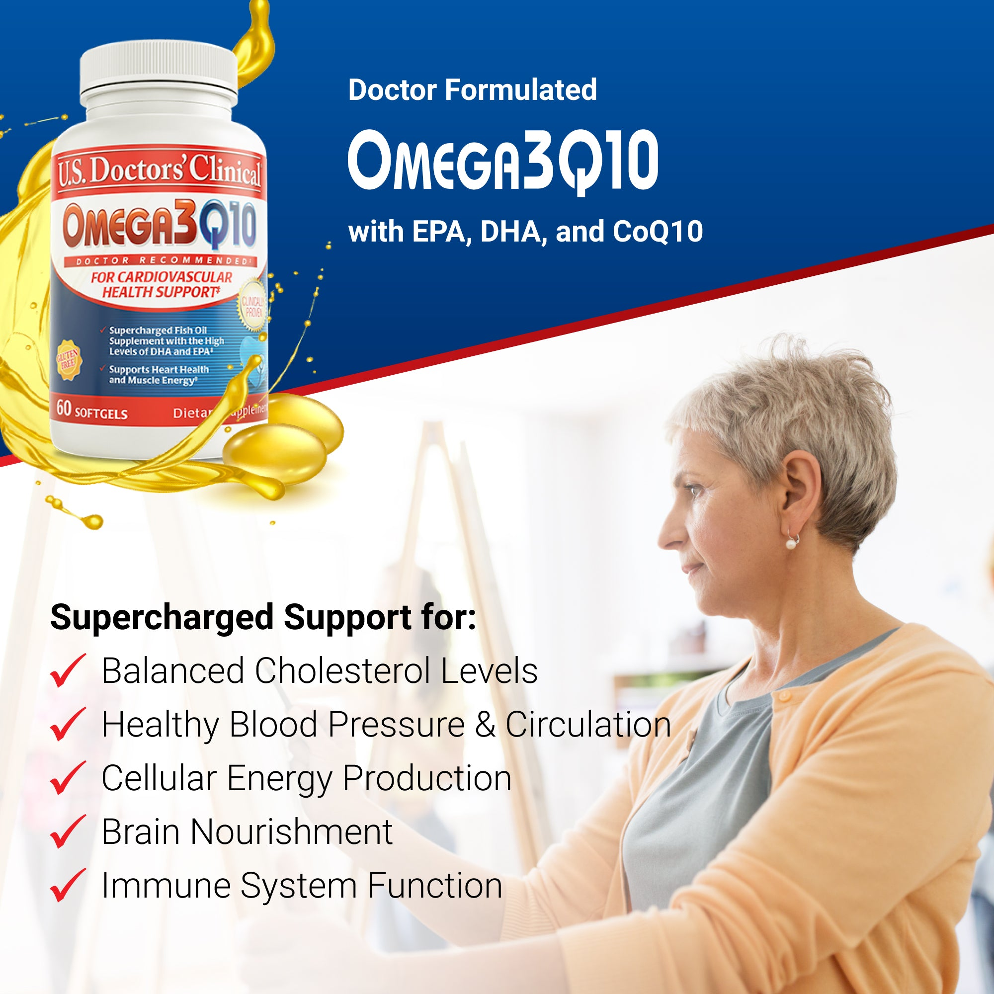 Omega3Q10 - Supercharged Fish Oil
