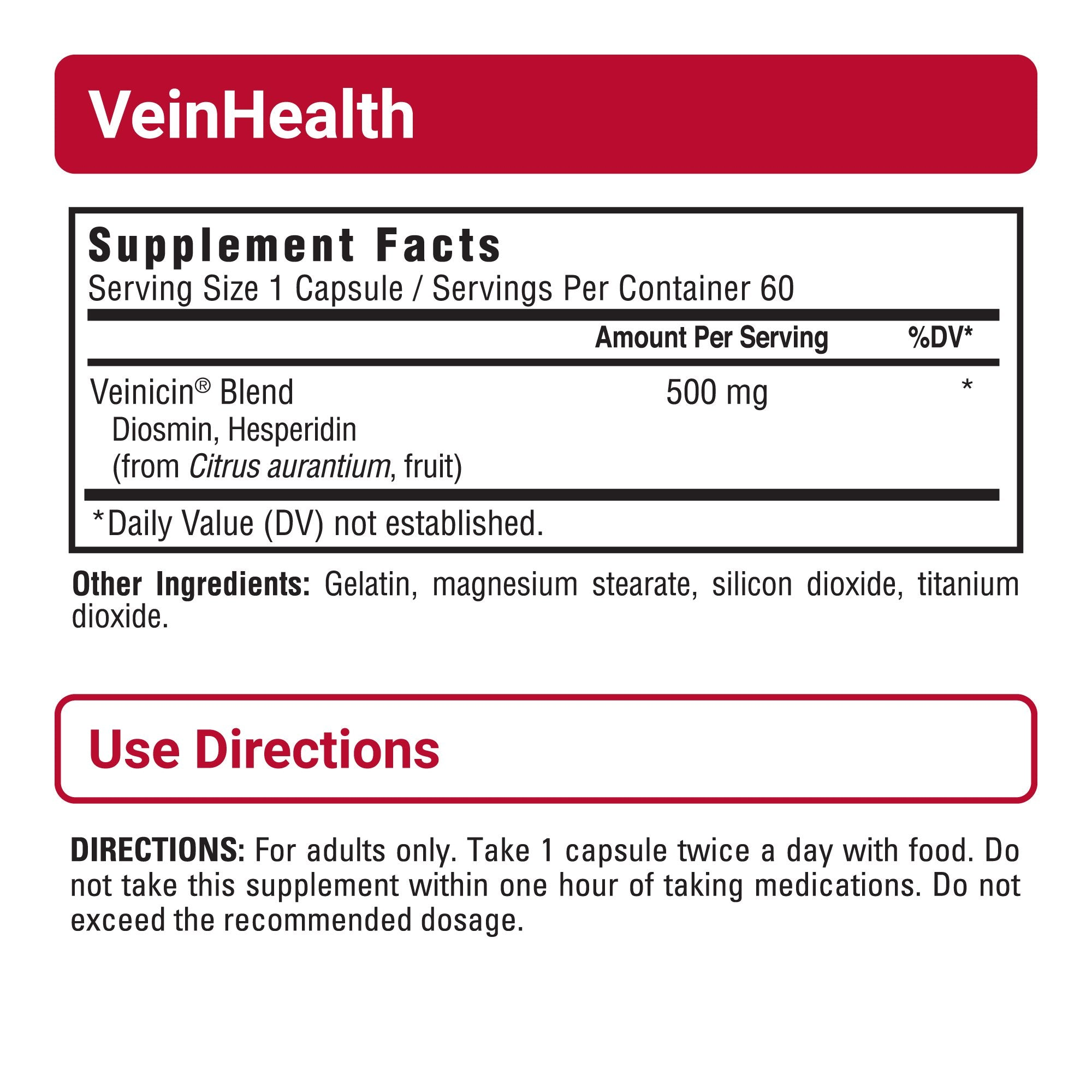 VeinHealth sup facts