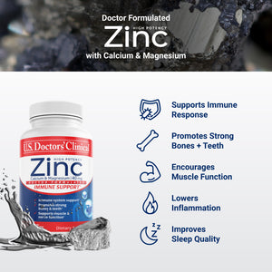 High Potency Zinc 40mg, 90 Count - 3 Pack