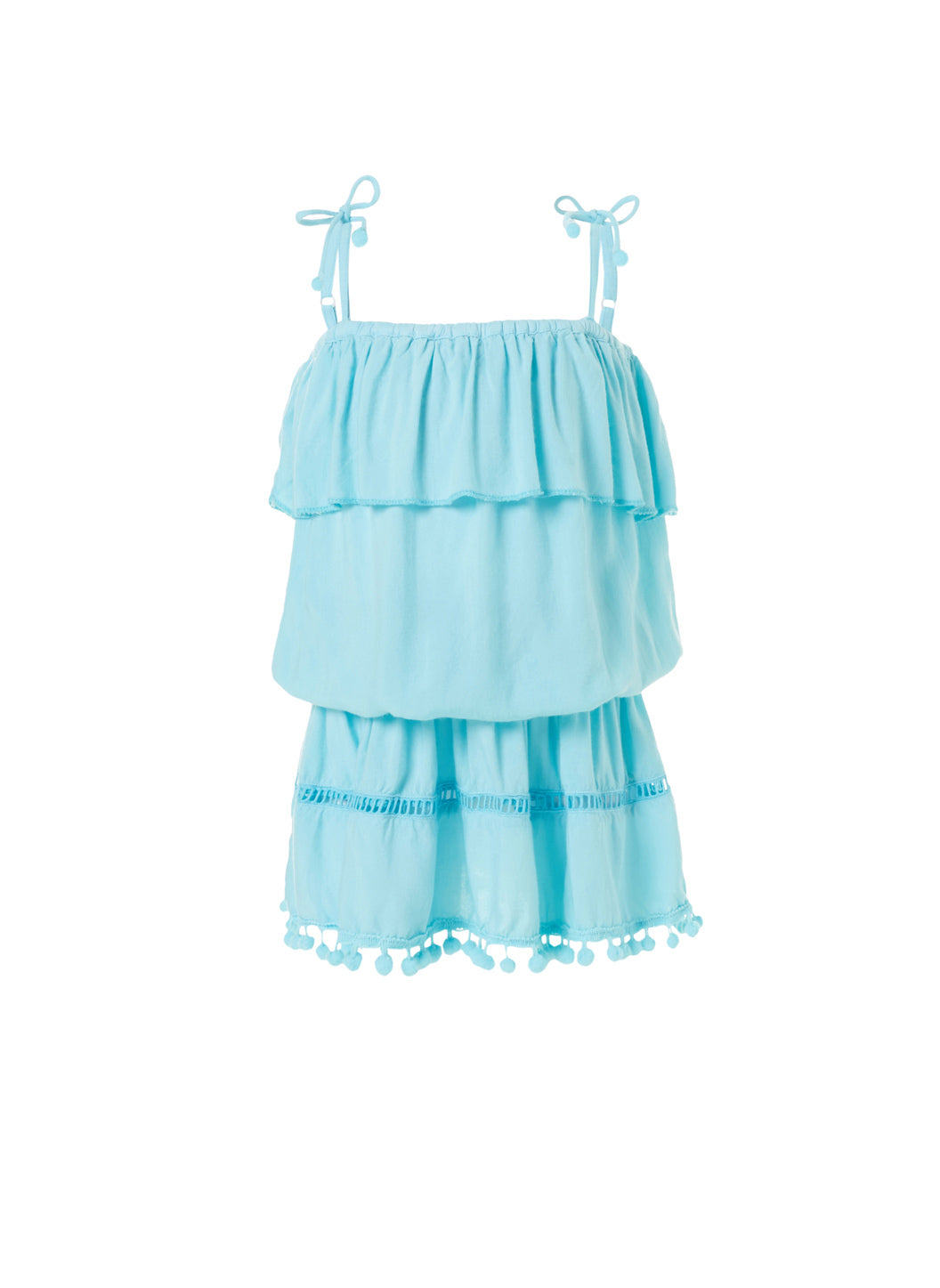 Baby Joy Sky Beach Dress - Melissa Odabash Kids Beach Dresses