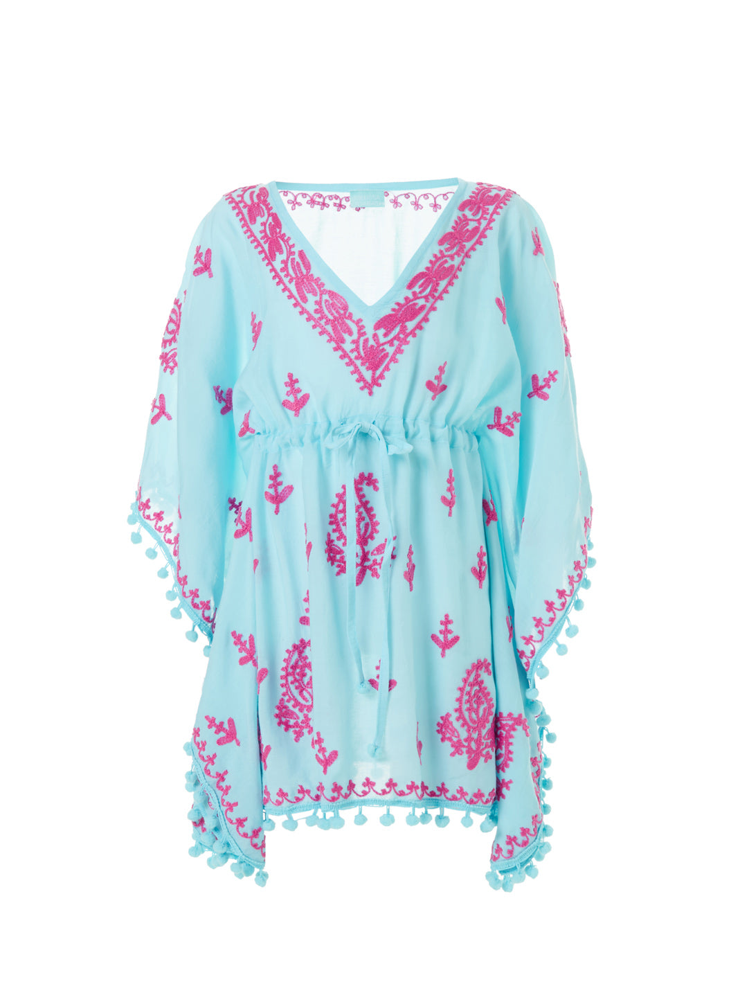 Baby Sharize Sky/Hot Pink Kaftan