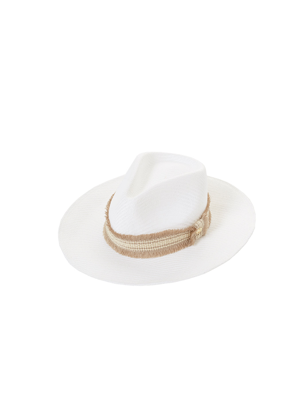 Blake Hat White - Melissa Odabash Accessories