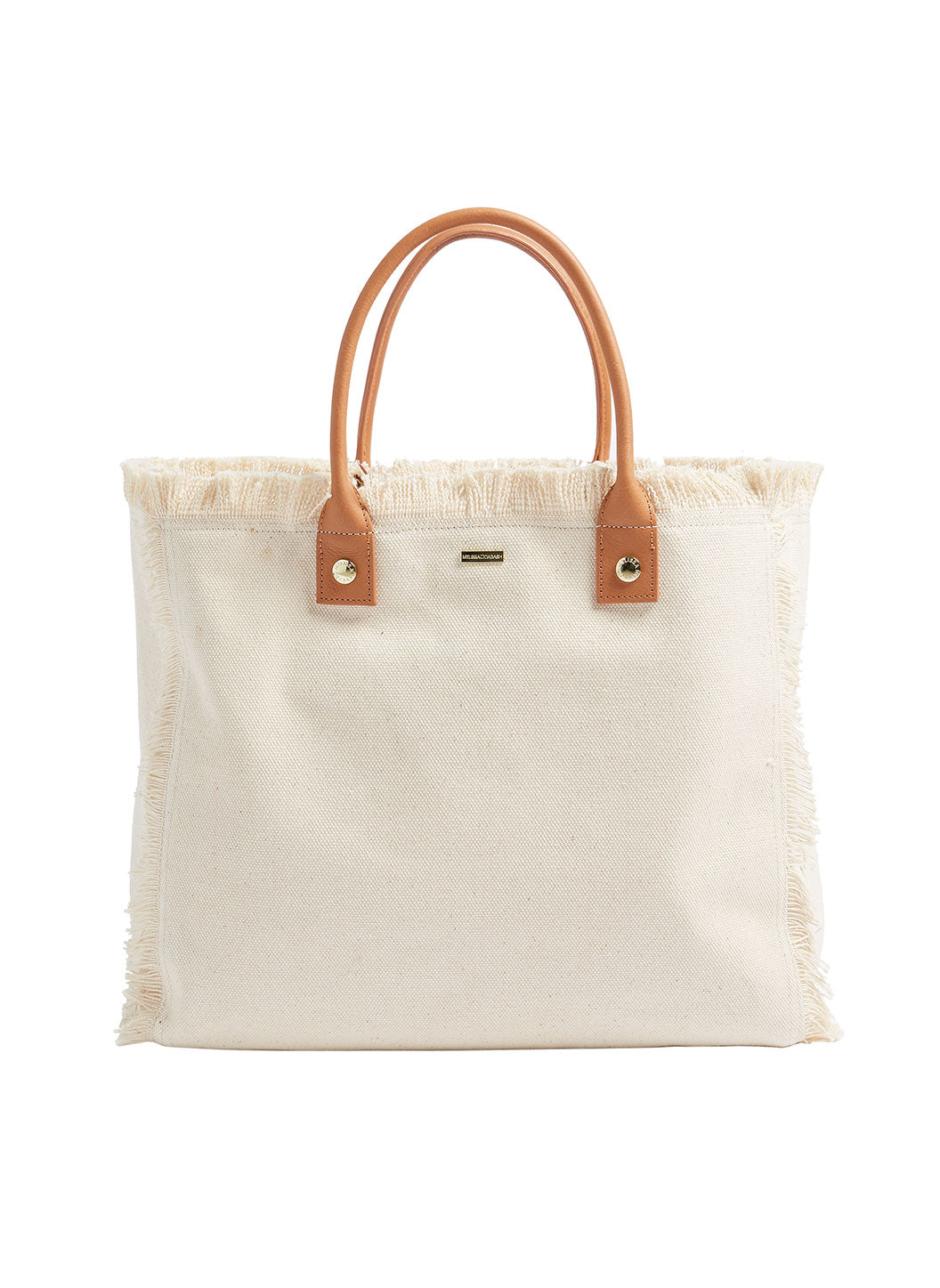 Personalized Cap Ferrat Large Beach Tote Beige - Melissa Odabash Accessories