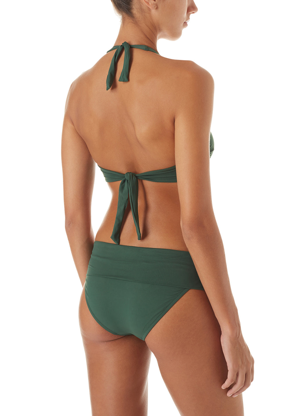 Exclusive Brussels Forest Halterneck Ring Supportive Bikini