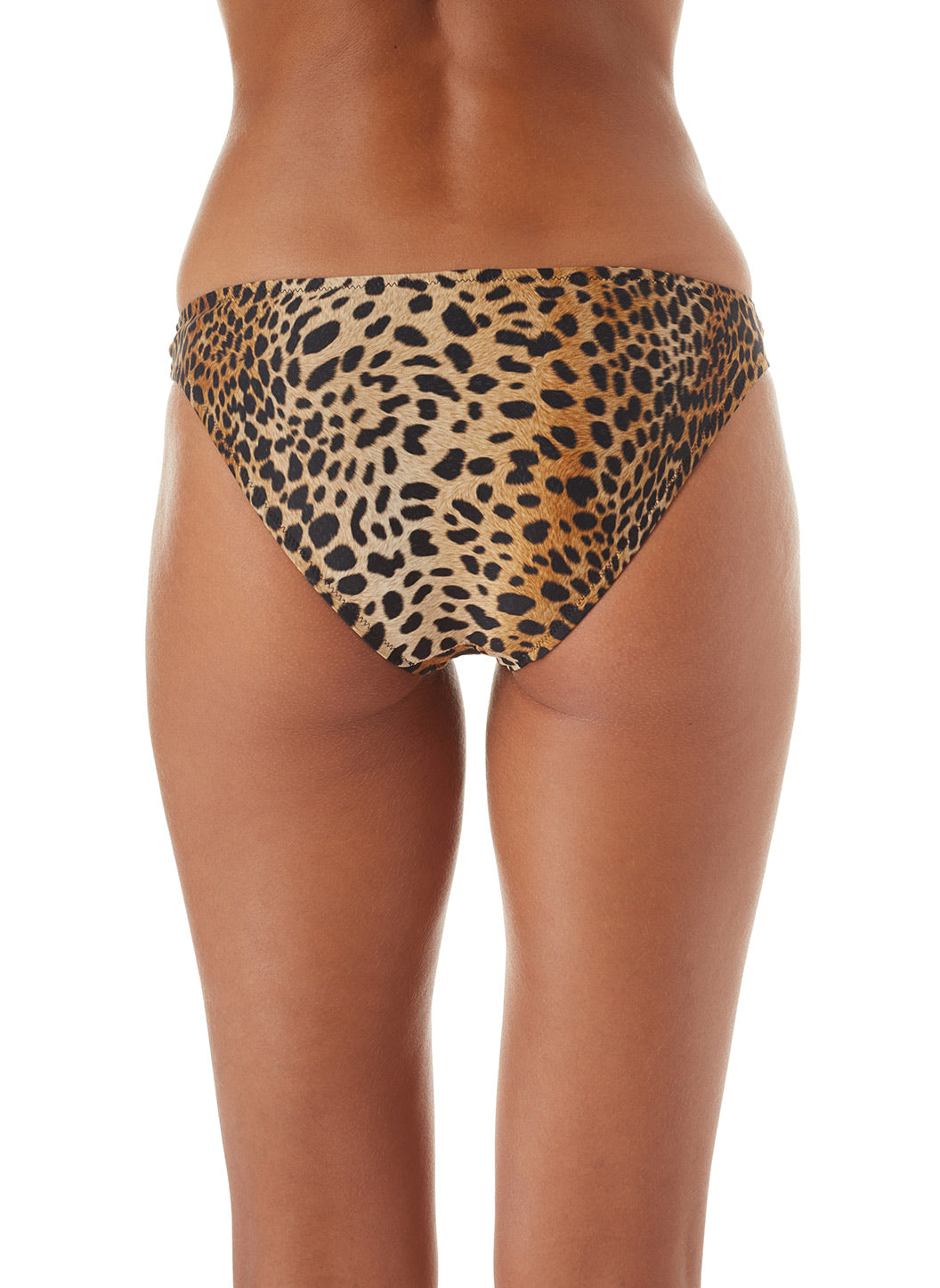 Exclusive Martinique Cheetah Bandeau Padded Twist Bikini
