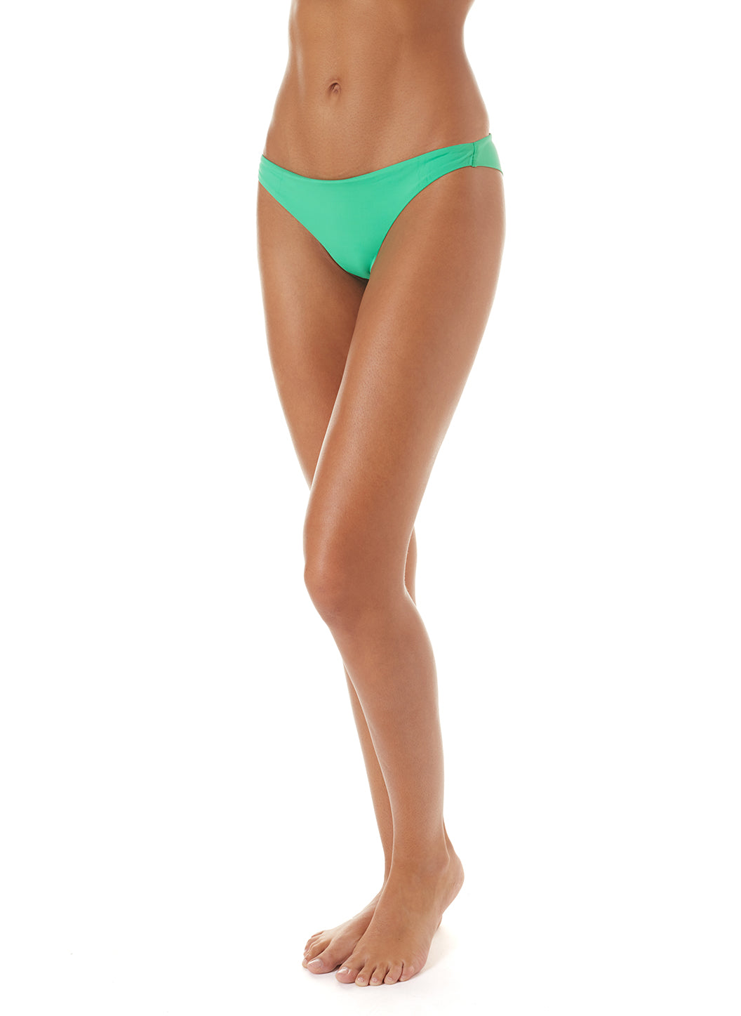 Exclusive Sisi Skimpy Bikini Bottoms Green
