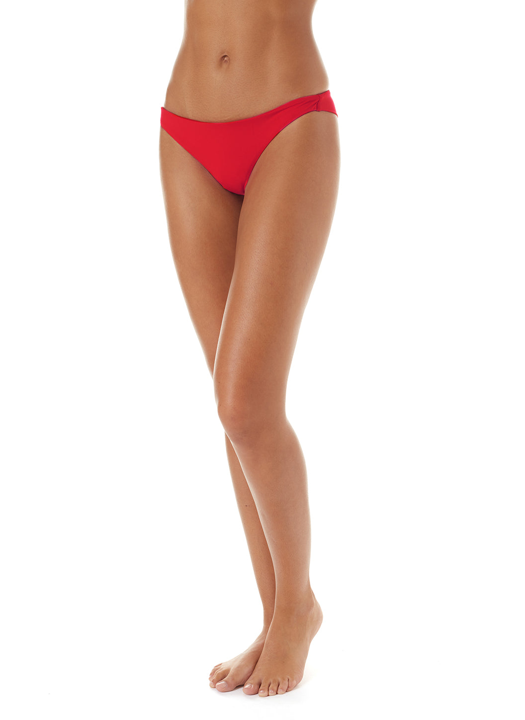 Exclusive Sisi Red Small Bikini Bottoms - Melissa Odabash Bikini Bottoms