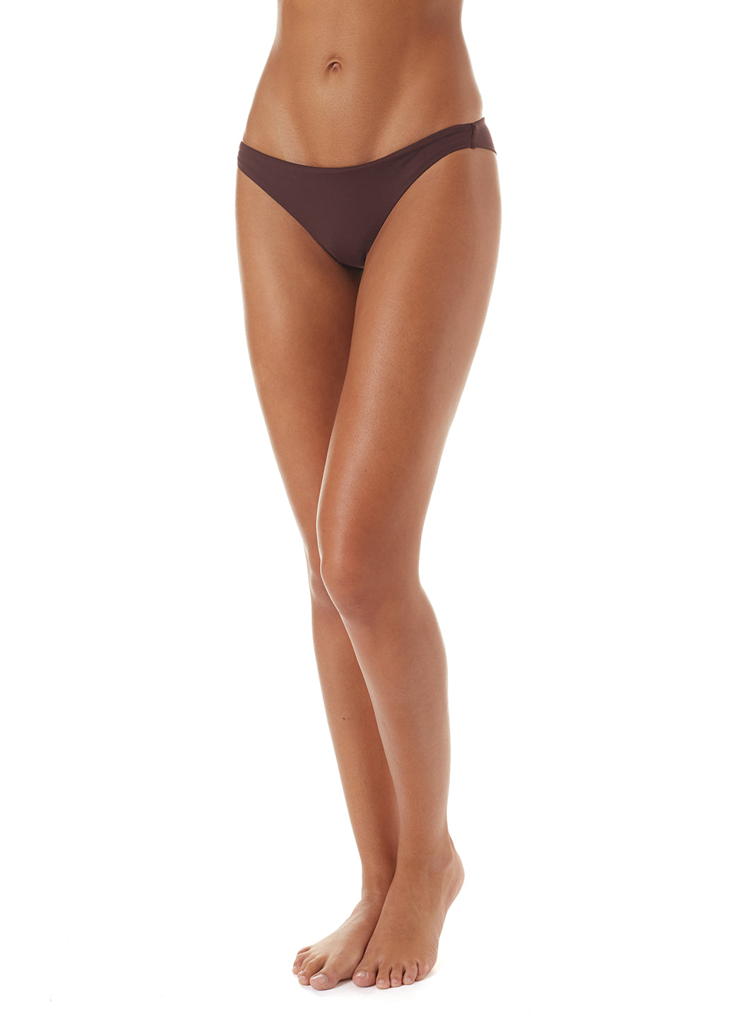 Exclusive Sisi Skimpy Bikini Bottoms Walnut