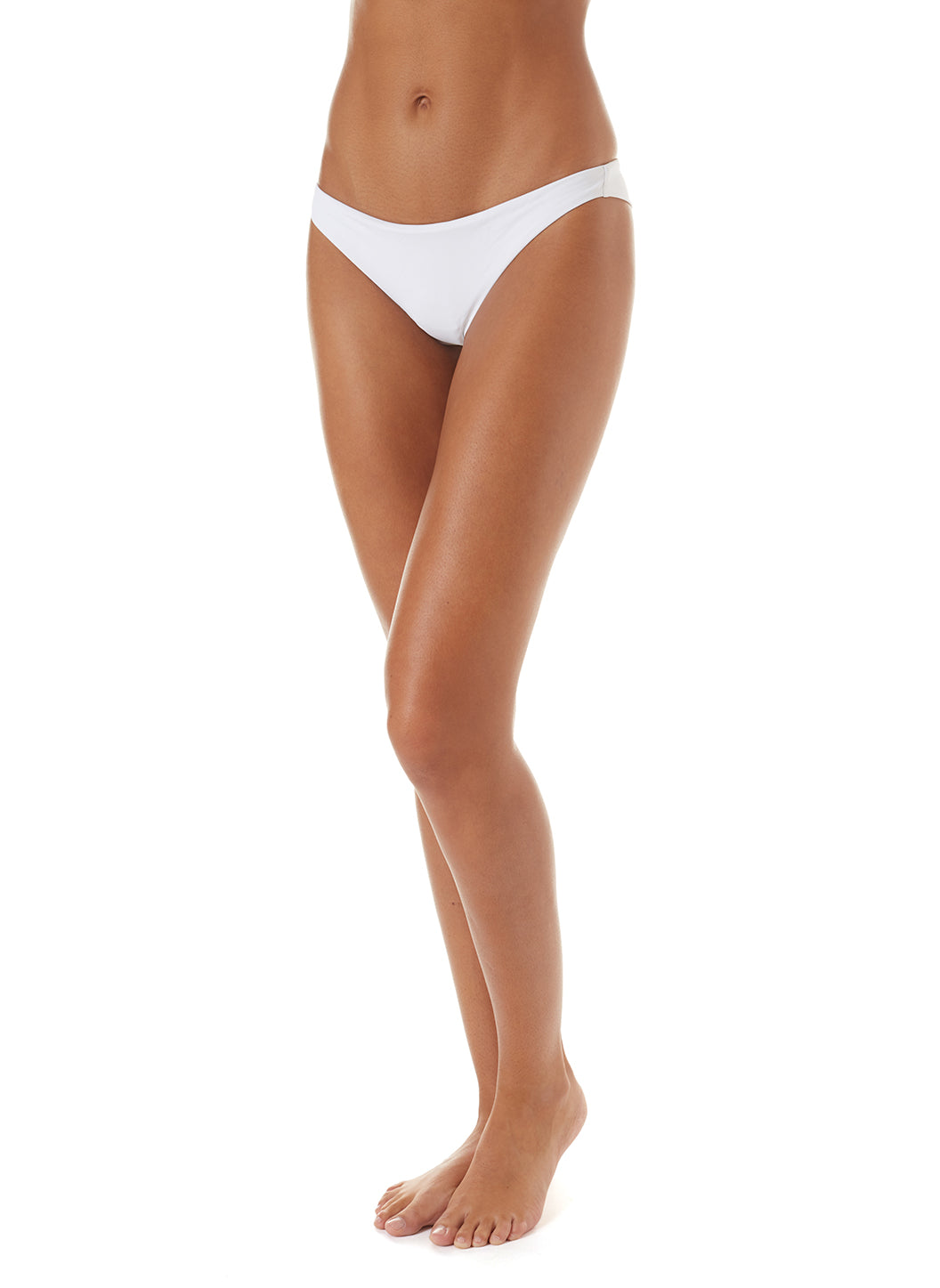 Exclusive Sisi Skimpy Bikini Bottoms White