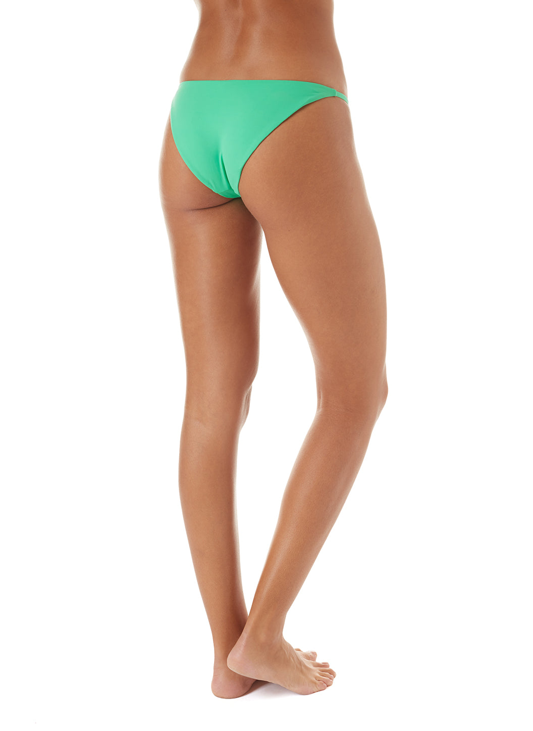 Exclusive St Tropez Green High-Leg Bikini Bottom