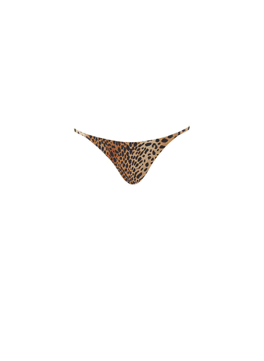 Exclusive St Tropez High Leg Bikini Bottoms Cheetah - Melissa Odabash Swimwear