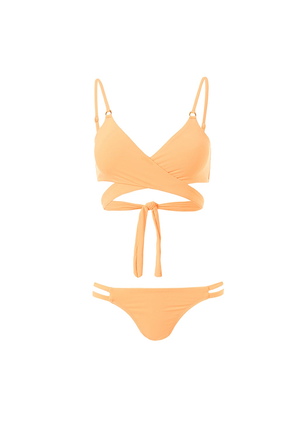 Indonesia Mango Over The Shoulder Wrap Bikini - Melissa Odabash Swimwear