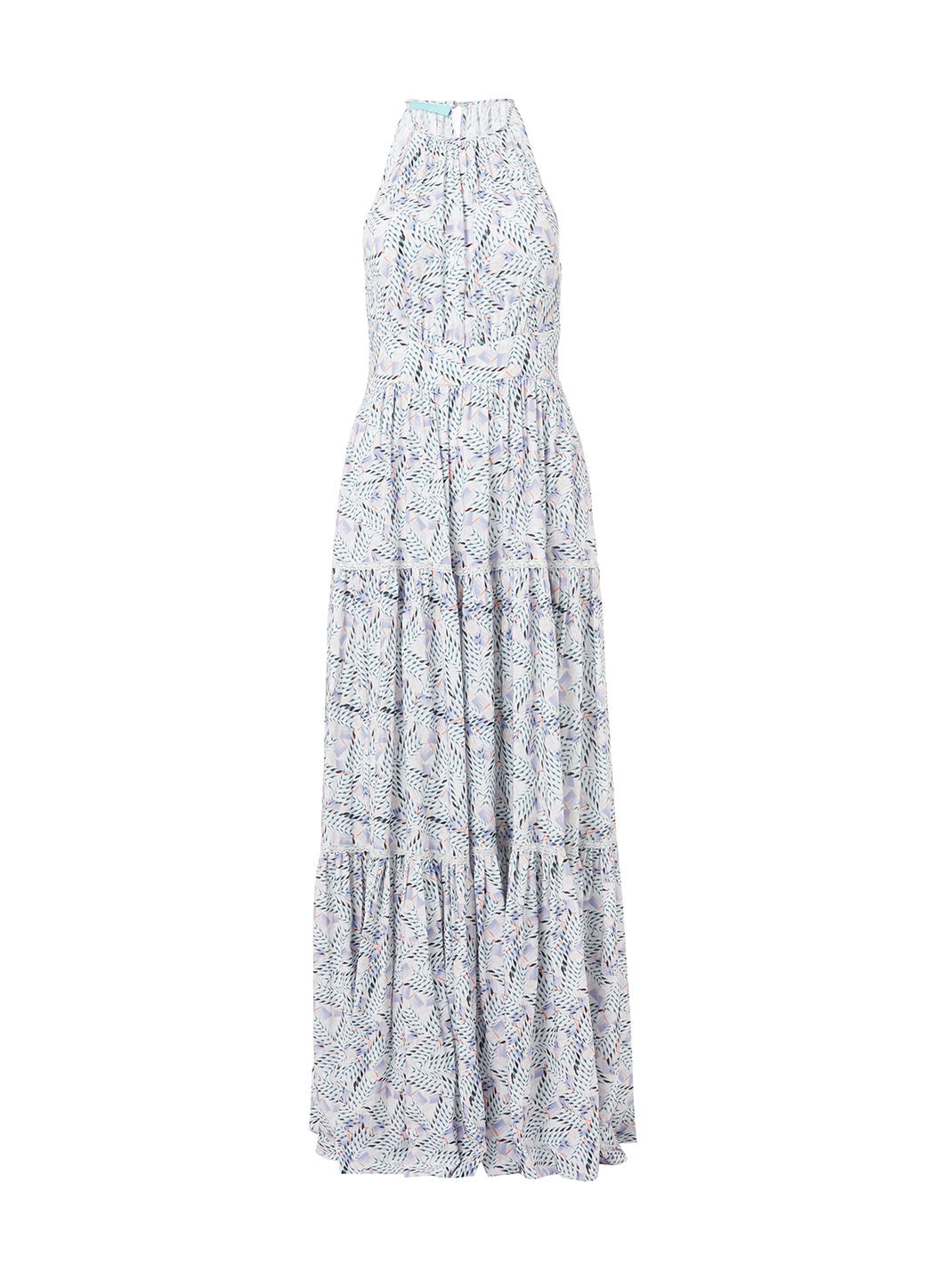 Isadora Azari High Neck Maxi Dress