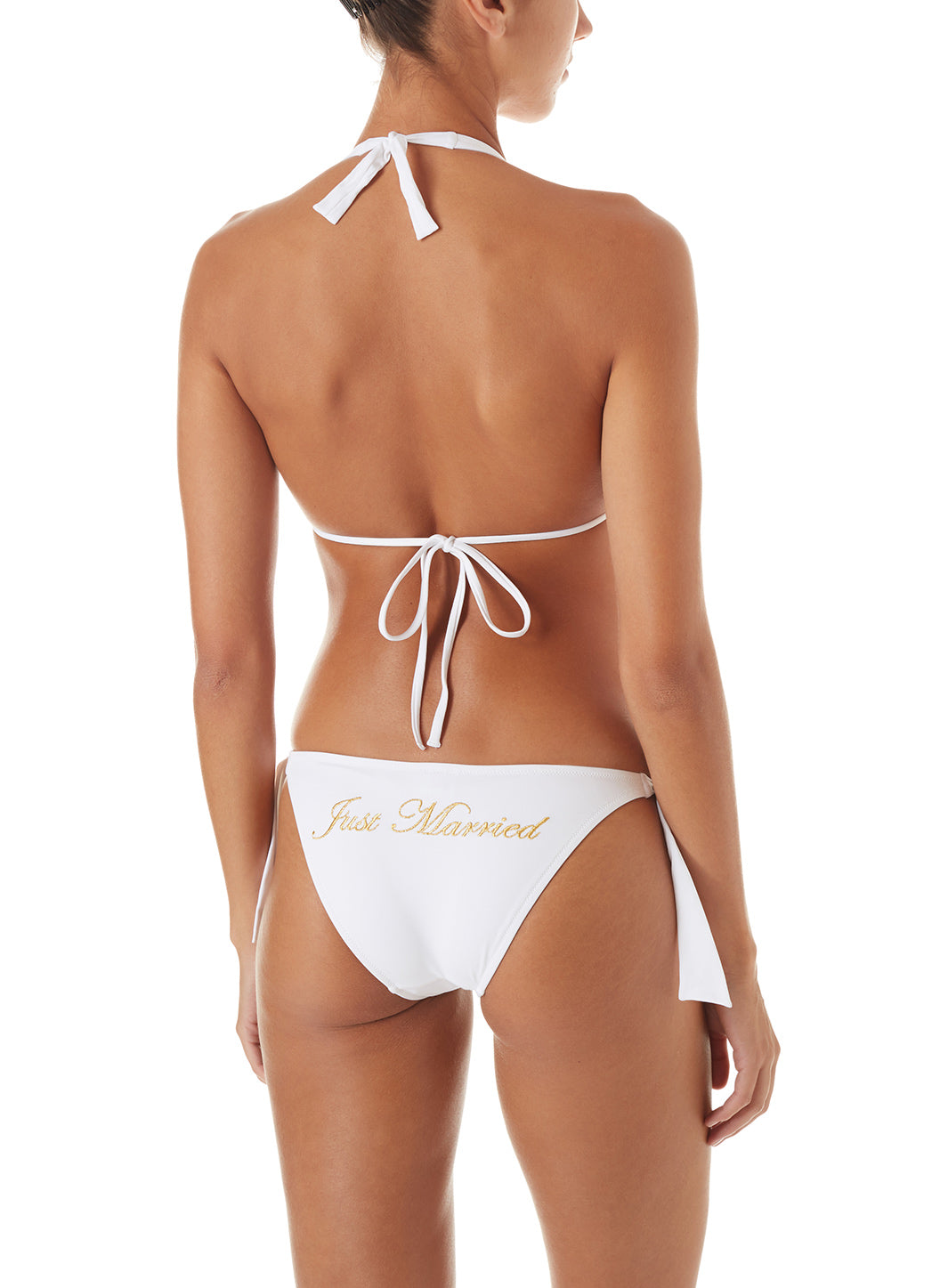 Maldives White Just Married Bikini - Melissa Odabash White Bikinis
