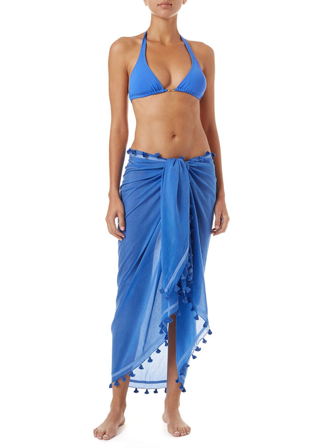 Pareo Cobalt Multi-Way Cover Up - Melissa Odabash Accessories