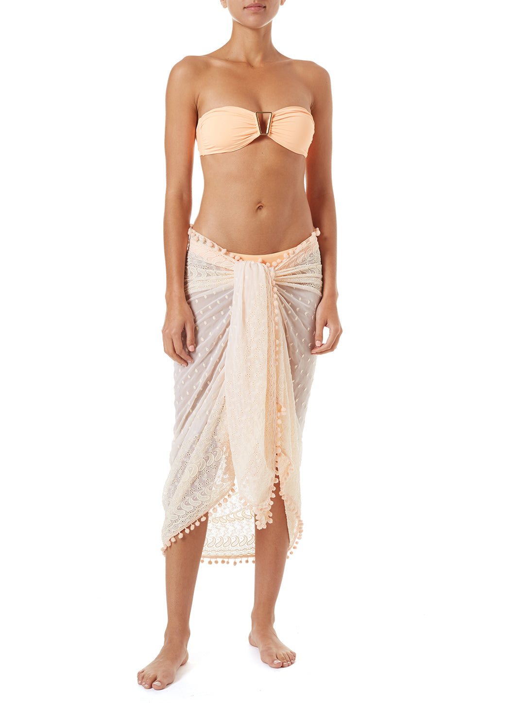 Pareo Mango Embroidered Multi Way Cover Up - Melissa Odabash Accessories