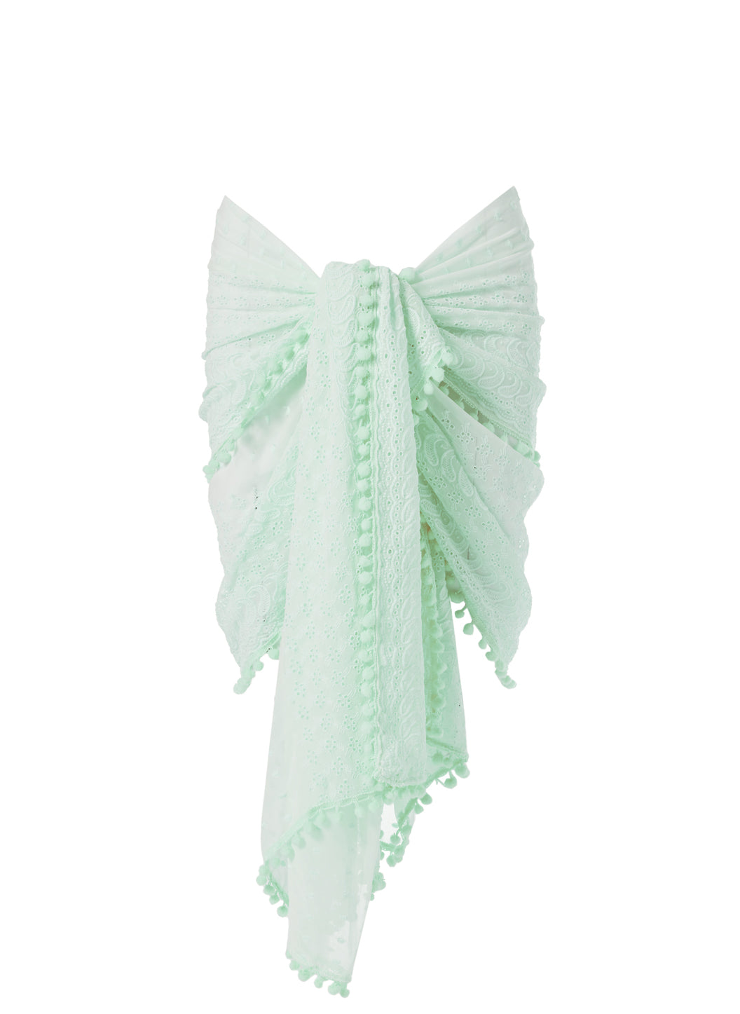 Pareo Mint Embroidered Multi Waycover Up