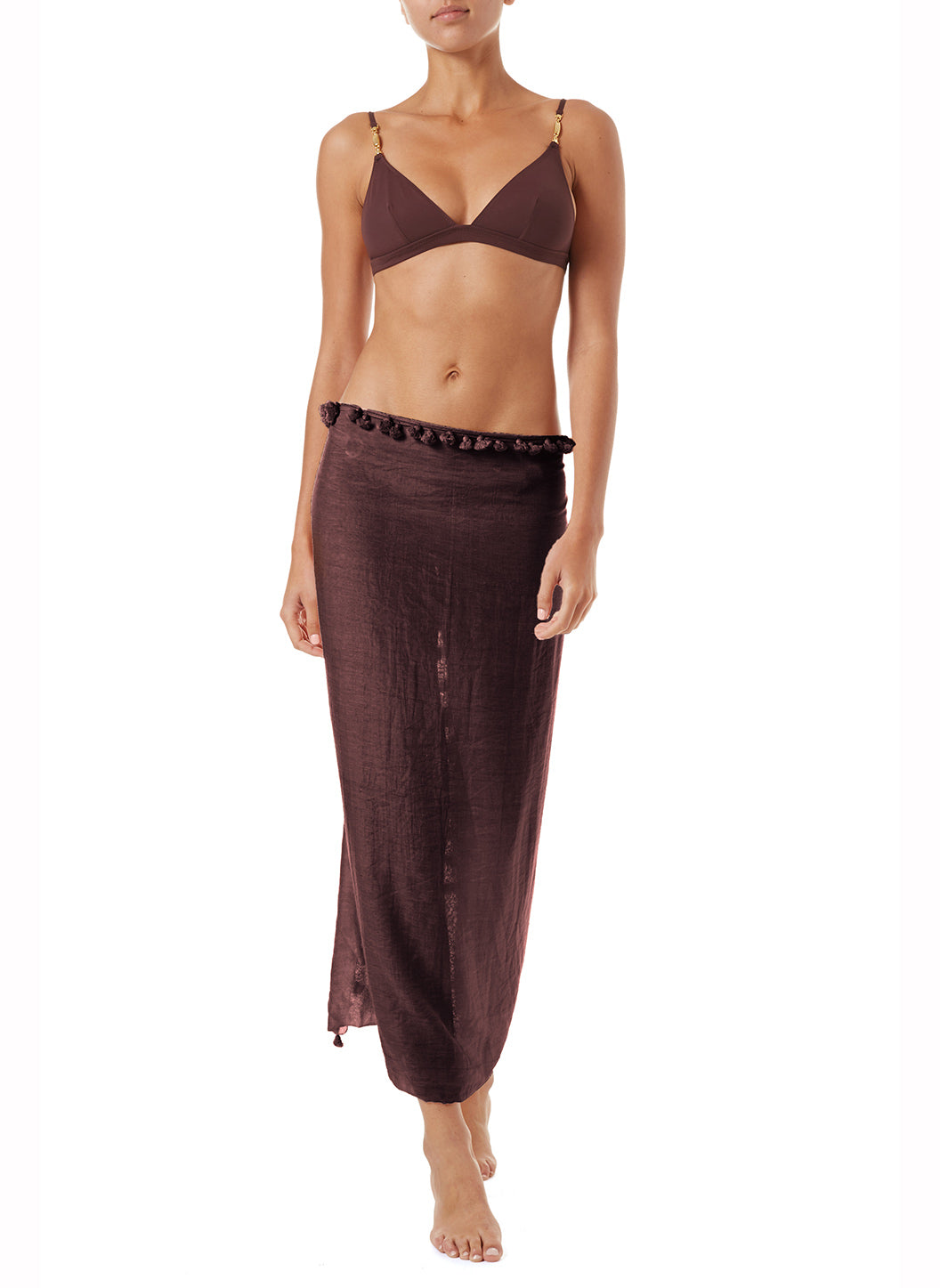 Pareo Walnut Multi-Way Cover Up